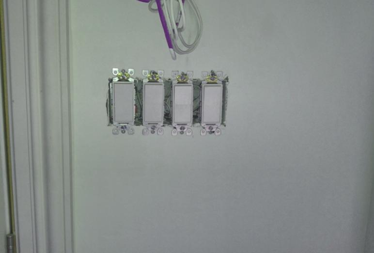 Combien coûte l'installation d'un interrupteur?